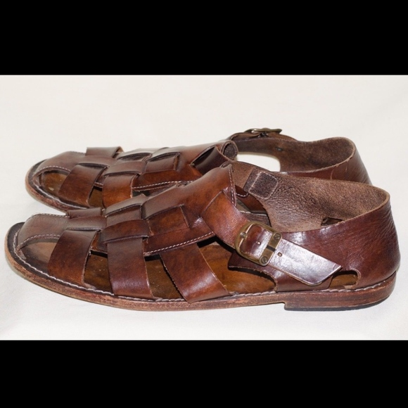 415391f0861a3 Neiman Marcus Italy Brown Sandals Leather Sz 11. M 5b52c09eaa8770132a10a8f3